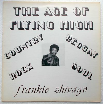 Frankie Zhivago Young The Age Of Flying High original LP Funk Soul Reggae Disco
