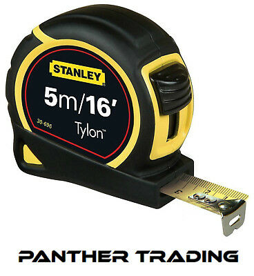 Stanley Tylon™ Pocket Tape 5M /16ft (Width 19mm) Measuring Tape - STA130696N