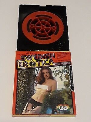 Vintage 8mm Adult Film Swedish Erotica Films #186 through #191
