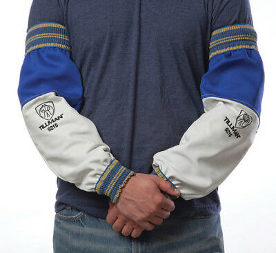 Leather 9215 Tillman Welding pair protective Sleeves Set FR cotton Fast US Ship
