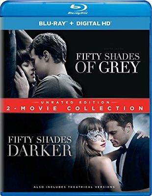 NEW Fifty Shades of Grey / Fifty Shades Darker 2 Movie Collection [Blu ray]