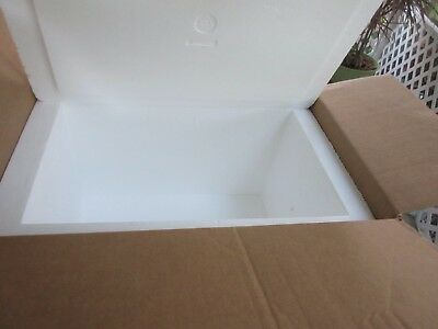 HUGE 16.5 by 25 by 16 Inch Insulated Shipping Cooler, 2 Inch Interior Sides!