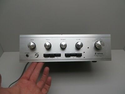 Vintage Nikko Trm-400 Stereo Integrated Amplifier  Free Shipping