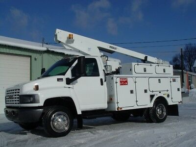 "05 Gmc C4500 Bucket Truck 92,631 Oirg. Miles A/c"" Fully Refurbished Lqqk"