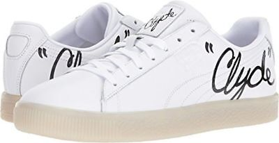 best loved dafca 1e2bb PUMA CLYDE SIGNATURE ICE Sneakers Shoes White Black Mens SIZE 5 6.5