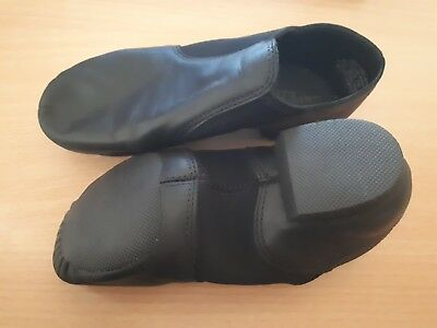 Capezio jazz shoes, black, used once, like new