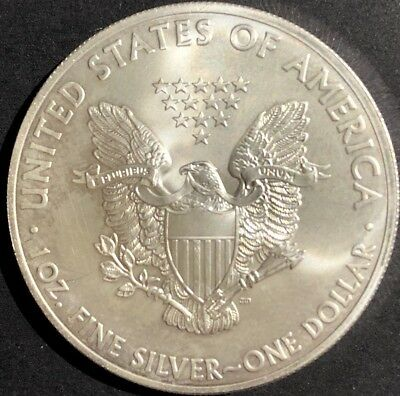 USA Silver Eagle Dollar2014 Minted 1 Ounce 99.9% Silver