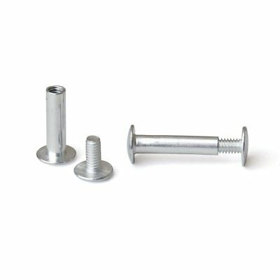 3/4 in. Aluminum Chicago Screws/Screw Posts Qty 100 sets