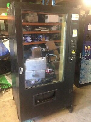 AMS combo large refrigerated vending machine vending & note reader