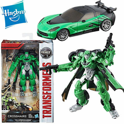Transformers 5 Crosshairs The Last Knight Premier Edition Action Figures Car Toy