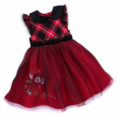 81ab6633a DISNEY STORE ADORABLE Minnie Mouse Bloomer Set Baby Girl Woven Dress ...