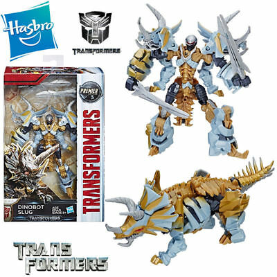 Transformers 5 Dinobot Slug The Last Knight Premier Edition Action Figures Toy