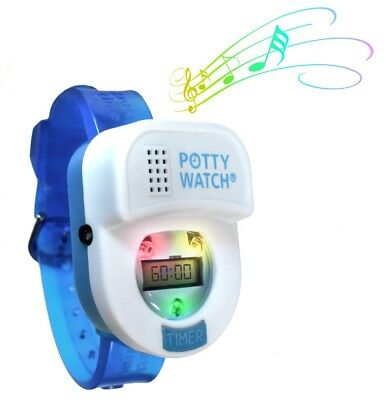Potty Time Toddler Potty Watch Toilet Training Aid - Blue