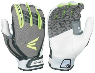 1 Pair Easton HF Hyperskin Turboslot Fastpitch Womens Large Batting Gloves New!