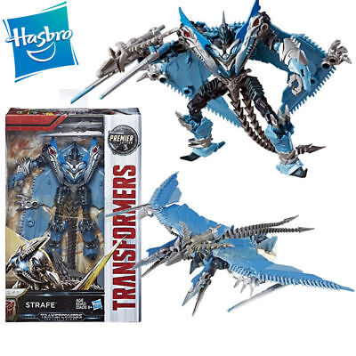Transformers 5 Strafe Deluxe The Last Knight Premier Edition Action Figures Toy