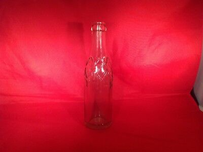 Very rare vintage Dr Pepper icicle soda bottle embossed lettering