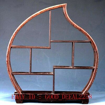 China's Beautiful Wooden Handmade Collection Of  Antiques Shelves MJ05