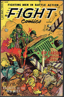 FIGHT COMICS  84  FN+/6.5  -  Tough-to-find 3rd to last issue!