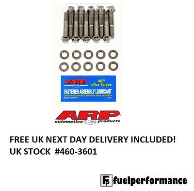 ARP Head Bolt Kit for Harley Davidson '48-'84 Stainless Steel pan & shovel heads