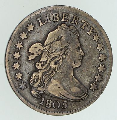 1805 Draped Bust Dime - Circulated *4711
