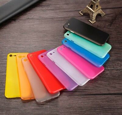 Ultra Slim 0.3mm PP Frosted Matte Back Case Cover For iPhone X 8 7 6 Plus & S