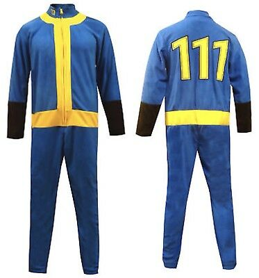 Bethesda Fleece Unisex Union Jump Suit:FALLOUT VAULT 111-Costume/Cosplay/Replica