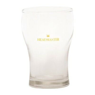 48 x Crown Headmaster Washington 425ml Nucleated Commercial Beer Glasses
