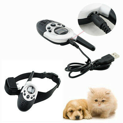 Best Waterproof- Remote Rechargeable LCD Electric Shock Dog Training Collar CE