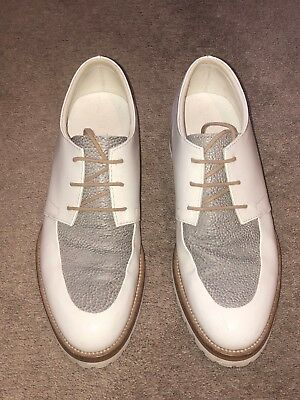 Beau Coops White Juniper Oxfords size 39