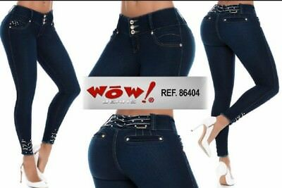 WOW, Jeans Colombianos, Authentic Colombian Push Up Jeans,Levanta Cola,Butt Lift