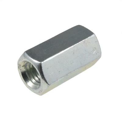 M6 M8 M10 M12 M16 M20 M24 M30 M36 Hex Rod Coupler Nut Coupling Zinc Plated