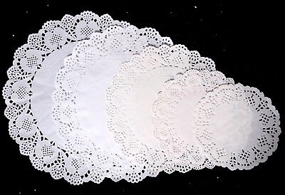 100Pc White Round Paper Doilies - Doily Food Craft Fun Diy Lace Decoration
