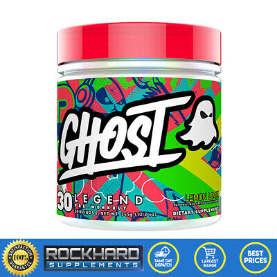 Ghost Legend Pre Workout 30 Serves Energy Pump L-Citrulline Beta Alanine