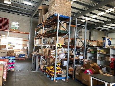 Pallet Racking uprights and crossbar