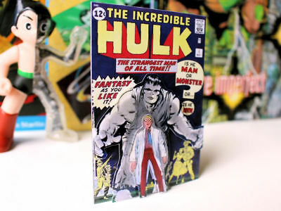 The Incredible Hulk Marvel Comics issue #1 cover retro vintage art fridge magnet