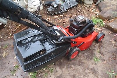 Rover 4 stroke lawn mower with catcher