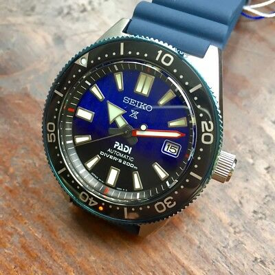 SEIKO Prospex PADI SPB071J1 Automatic 200m Divers Japan Made Padi Box @