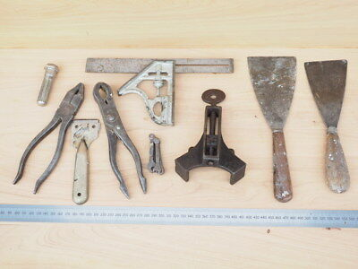 VINTAGE OLD MIXED WOODWORKING TOOLS LOT, OLD TOOLS (i812)