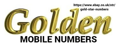 Easy Memorable Gold Mobile Number O2 Vodafone Ee Three Pay As You Go Sim Card