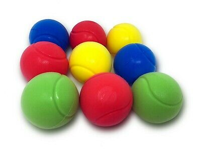 E-Deals Soft Tennis Balls - Pack of 9 Assorted Colours - Sent at random