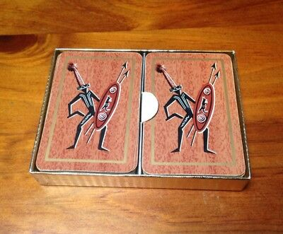 Canasta Playing Cards  Aboriginal Images. Made In Australia by Southern Cross