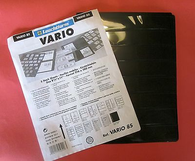 Lighthouse Vario Acid Free Stamp Pages (8S ) Pack 5 plus Free Gift.