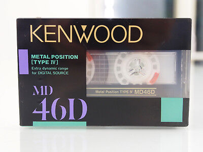 Kenwood MD 46D Made in Japan by TDK (MA-X) *** High-End Metal Tape OVP / sealed