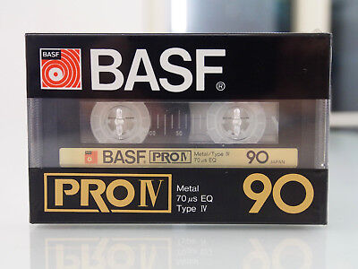 BASF PRO IV 90 Made in Germany for Japan *** High-End Metal Tape OVP / sealed
