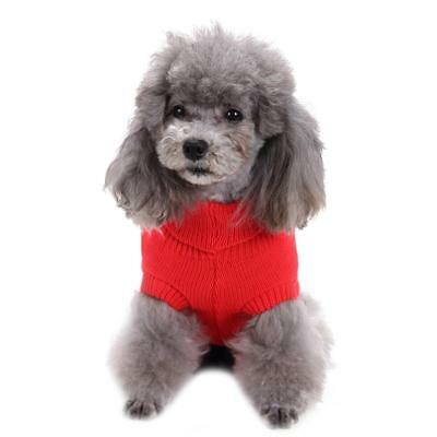 Pet Dog Warm Clothes Coat Apparel Jumper Sweater Puppy Cat Knit Costume GIFTS
