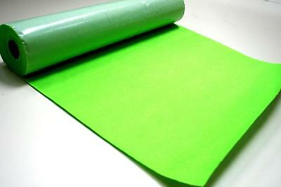 Self Adhesive Felt Baize Fabric Mini Rolls - SUPERBRIGHT GREEN