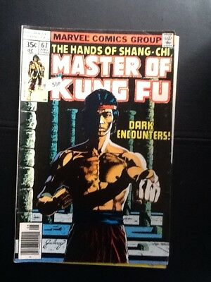 The Hands Of Shang-Chi, Master Of Kung-Fu #67_August 1978_