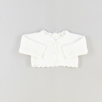 Cardigan color Blanco marca Early days 0 Meses