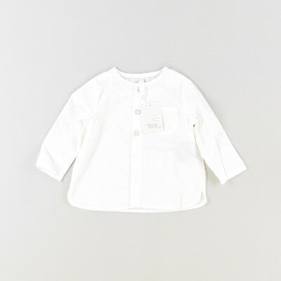 Camisa color Blanco marca Tex 3 Meses