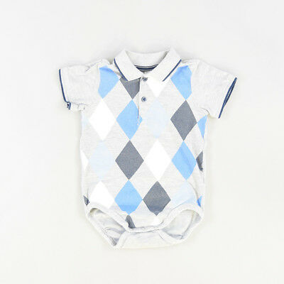 Polo body color Gris marca H&M 12 Meses